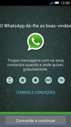 Alcatel POP C7 - Aplicações - Como configurar o WhatsApp -  5