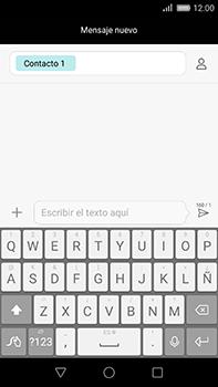 Huawei GX8 - Mensajería - Escribir y enviar un mensaje multimedia - Paso 7