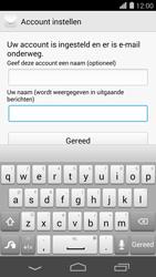 Huawei Ascend P7 - E-mail - Handmatig instellen - Stap 20
