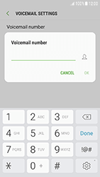 Samsung Galaxy J3 (2017) - Voicemail - Manual configuration - Step 8