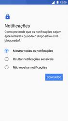 Nokia 5 - Segurança - Como ativar o código de bloqueio do ecrã -  12