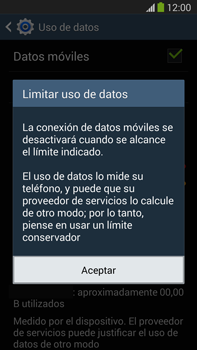 Samsung Galaxy Note 3 - Internet - Ver uso de datos - Paso 9