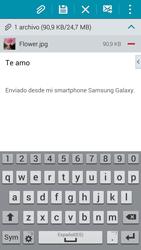 Samsung G900F Galaxy S5 - E-mail - Escribir y enviar un correo electrónico - Paso 17