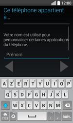 LG F70 - Premiers pas - Créer un compte - Étape 6