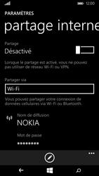 Nokia Lumia 735 - Internet et connexion - Partager votre connexion en Wi-Fi - Étape 8
