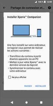 Sony Xperia XZ2 - Internet et connexion - Utiliser le mode modem par USB - Étape 7