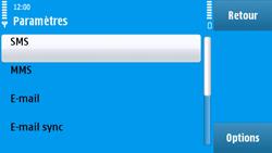 Nokia N97 - SMS - configuration manuelle - Étape 5