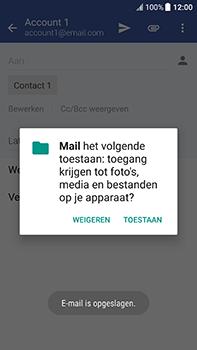 HTC U11 - E-mail - Bericht met attachment versturen - Stap 11
