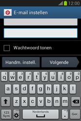 Samsung Galaxy Fame Lite (S6790) - E-mail - Account instellen (POP3 zonder SMTP-verificatie) - Stap 6