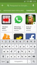 Samsung Galaxy S6 Edge - Aplicações - Como pesquisar e instalar aplicações -  13