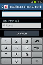 Samsung Galaxy Fame Lite (S6790) - E-mail - Account instellen (IMAP met SMTP-verificatie) - Stap 11
