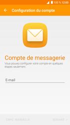 Alcatel Shine Lite - E-mail - Configuration manuelle - Étape 5