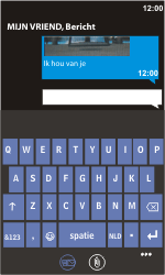 Nokia Lumia 900 - MMS - hoe te versturen - Stap 11