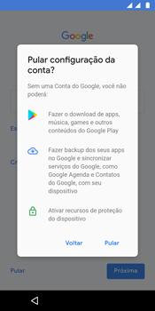 Motorola Moto G6 Plus - Primeiros passos - Como ativar seu aparelho - Etapa 12