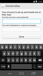 Huawei Ascend P7 - Email - 032c. Email wizard - Outlook - Step 9