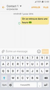 Samsung Samsung Galaxy J7 (2016) - Contact, Appels, SMS/MMS - Envoyer un SMS - Étape 12