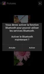 Bouygues Telecom Bs 401 - Photos, vidéos, musique - Envoyer une photo via Bluetooth - Étape 12