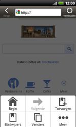 HTC S510b Rhyme - Internet - Hoe te internetten - Stap 5
