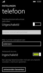 Nokia Lumia 530 - Voicemail - Handmatig instellen - Stap 6
