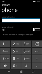 Nokia Lumia 735 - Voicemail - Manual configuration - Step 7