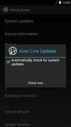 Acer Liquid Z410 - Network - Installing software updates - Step 7