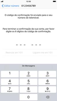 Apple iPhone 6s Plus - iOS 12 - Aplicações - Como configurar o WhatsApp -  11