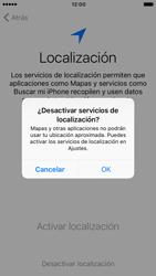 Apple iPhone 6 iOS 10 - Primeros pasos - Activar el equipo - Paso 10