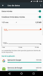 BlackBerry DTEK 50 - Internet - Ver uso de datos - Paso 10