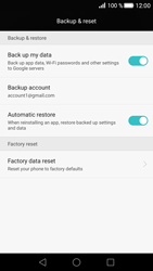 Huawei P8 - Device maintenance - Create a backup of your data - Step 7