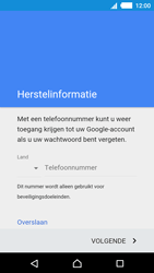 Sony Xperia M4 Aqua (E2303) - Applicaties - Account aanmaken - Stap 8