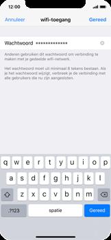 Apple iphone-x-met-ios-11-model-a1901 - WiFi - Mobiele hotspot instellen - Stap 5