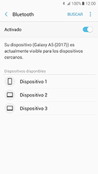 Samsung Galaxy A5 (2017) (A520) - Bluetooth - Conectar dispositivos a través de Bluetooth - Paso 7