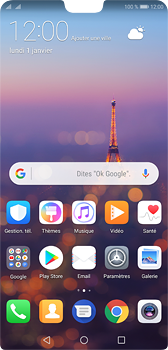 Huawei P20 - Internet - Examples des sites mobile - Étape 1