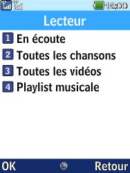 LG G359 - Photos, vidéos, musique - Ecouter de la musique - Étape 4