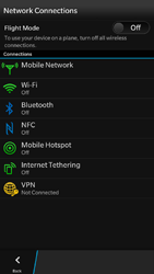 BlackBerry Z30 - Internet - Enable or disable - Step 5