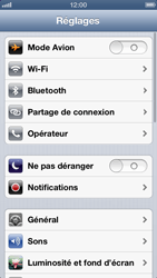 Apple iPhone 5 - Internet - Configuration manuelle - Étape 3