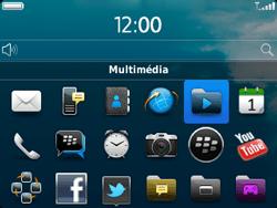 BlackBerry 9320 - Photos, vidéos, musique - Ecouter de la musique - Étape 3