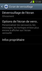 Samsung Galaxy S3 Mini - Sécuriser votre mobile - Activer le code de verrouillage - Étape 5