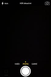Apple iPhone 4S - Photos, vidéos, musique - Prendre une photo - Étape 5
