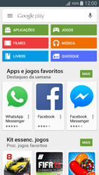 Samsung Galaxy A5 - Aplicações - Como pesquisar e instalar aplicações -  4