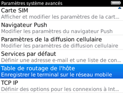 BlackBerry 9780 Bold - Paramètres - reçus par SMS - Étape 6