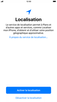 Apple iPhone 8 Plus - Premiers pas - Créer un compte - Étape 35