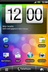 HTC A510e Wildfire S - Internet - Hoe te internetten - Stap 1