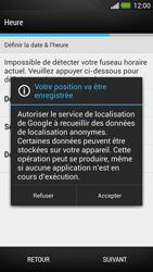 HTC One - Premiers pas - Créer un compte - Étape 8