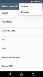 Sony Xperia XA1 - Mensajería - Configurar el equipo para mensajes multimedia - Paso 15