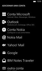 Nokia Lumia 625 - Email - Configurar a conta de Email -  7