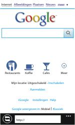 Nokia Lumia 610 - Internet - Hoe te internetten - Stap 8