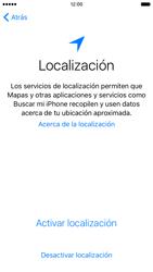 Apple iPhone 6s iOS 9 - Primeros pasos - Activar el equipo - Paso 10