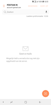 Samsung Galaxy A8 Plus - E-mail - handmatig instellen - Stap 17