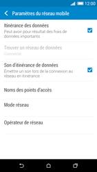 HTC Desire 820 - Aller plus loin - Désactiver les données à l'étranger - Étape 5